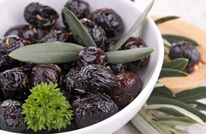 calorie-olive